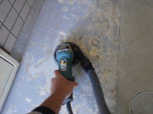 横浜市西区南浅間町のマンション塗床塗装