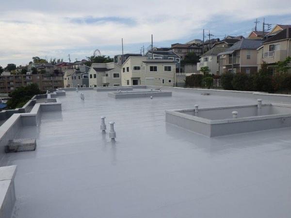 川崎市麻生区で防水工事