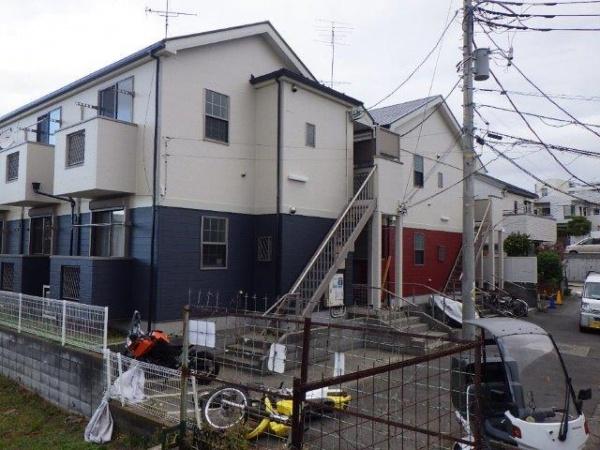 横浜市保土ヶ谷区でアパート塗装工事